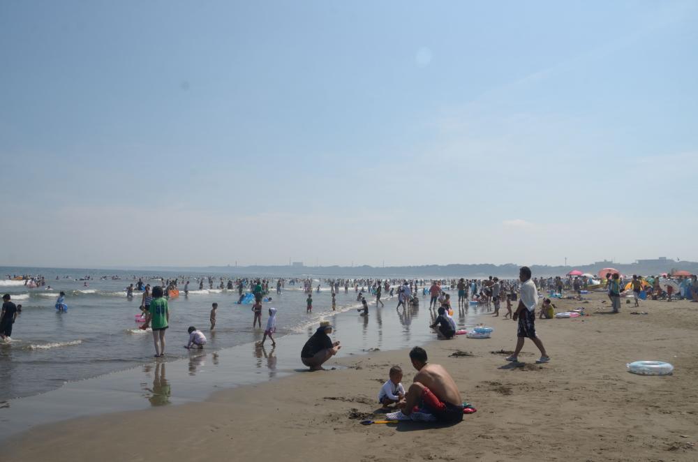 広大な砂浜
