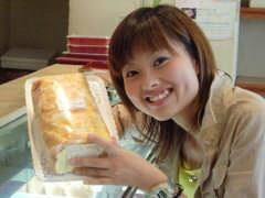 カノウヤ菓子店のシューロール
