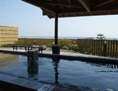 潮騒の湯の露天風呂