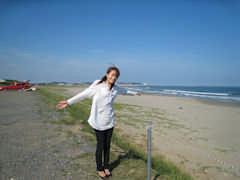 イエローサンズの目の前のビーチ