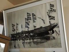 中山染工場にある古い写真