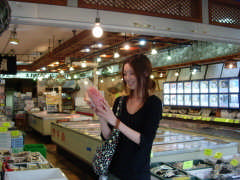 飯岡屋水産 本店の店内の雰囲気