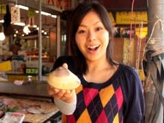 飯岡屋水産 いきいき店での記者