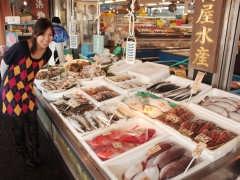 飯岡屋水産 いきいき店の鮮魚たち