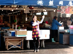 飯岡屋水産 いきいき店の入り口