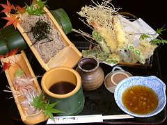 見た目も美しい蕎麦料理 そば処 武山