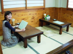 昭和レトロな店内 柳屋食堂