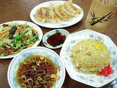 中華を中心に、定番メニュー 柳屋食堂