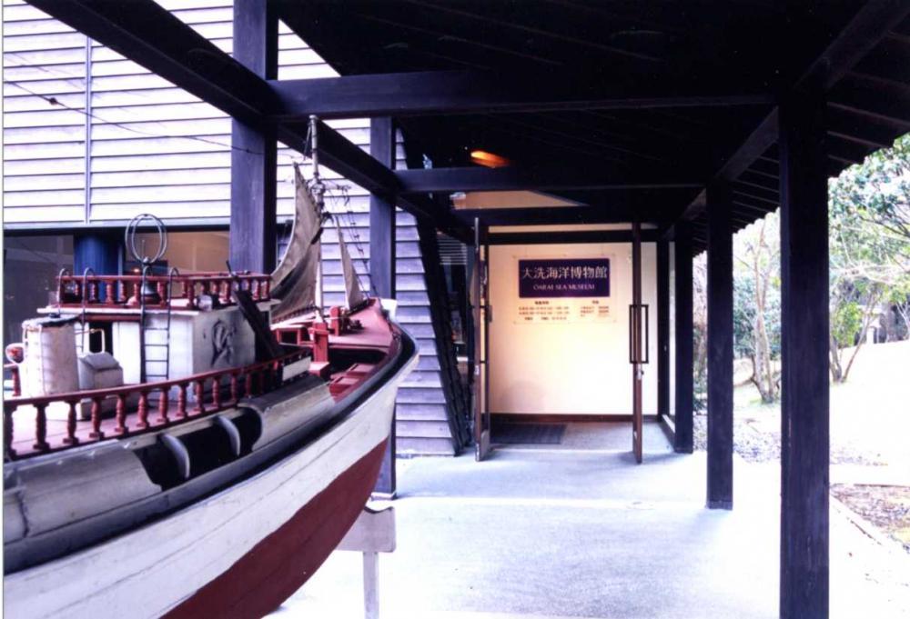 海洋博物館内