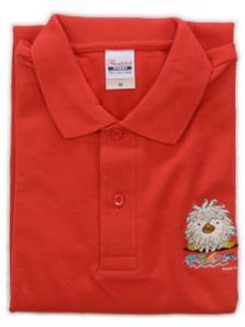 アライッペポロシャツ(ブライトレッド)