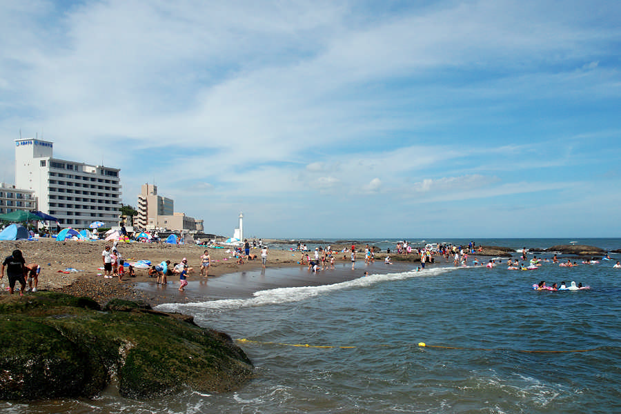 平太郎浜の夏