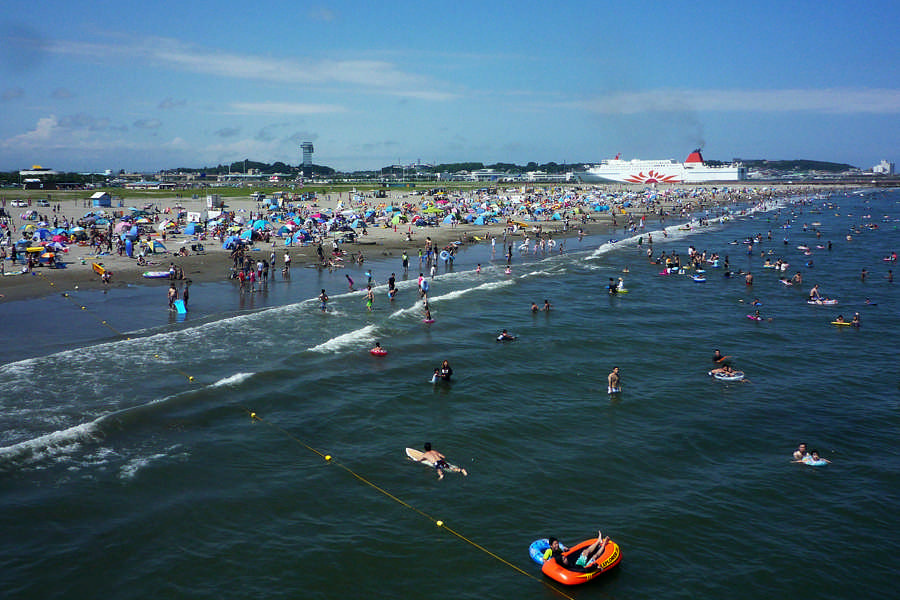 大洗サンビーチの夏