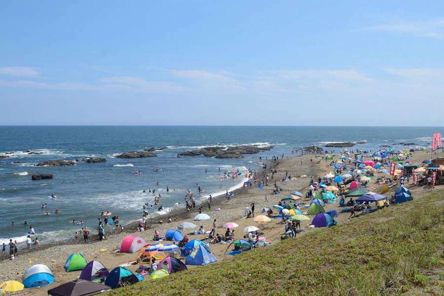 大洗海水浴場の夏
