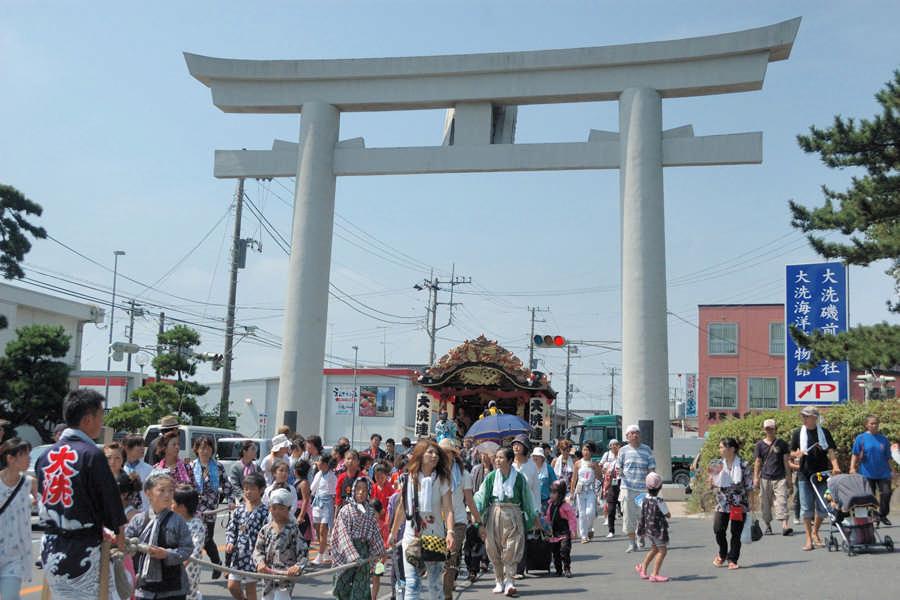大洗磯前神社の夏