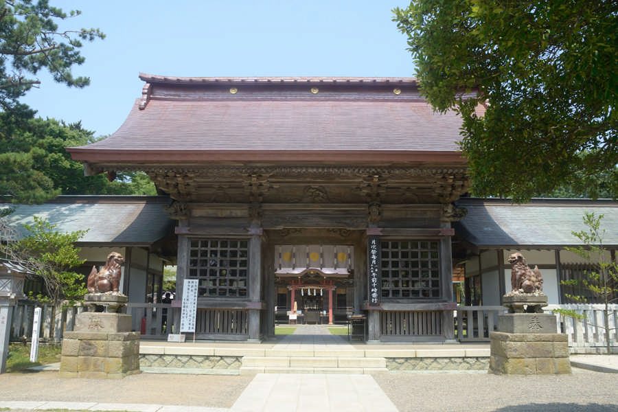 Oarai Isosaki Shrine Zuishinmon