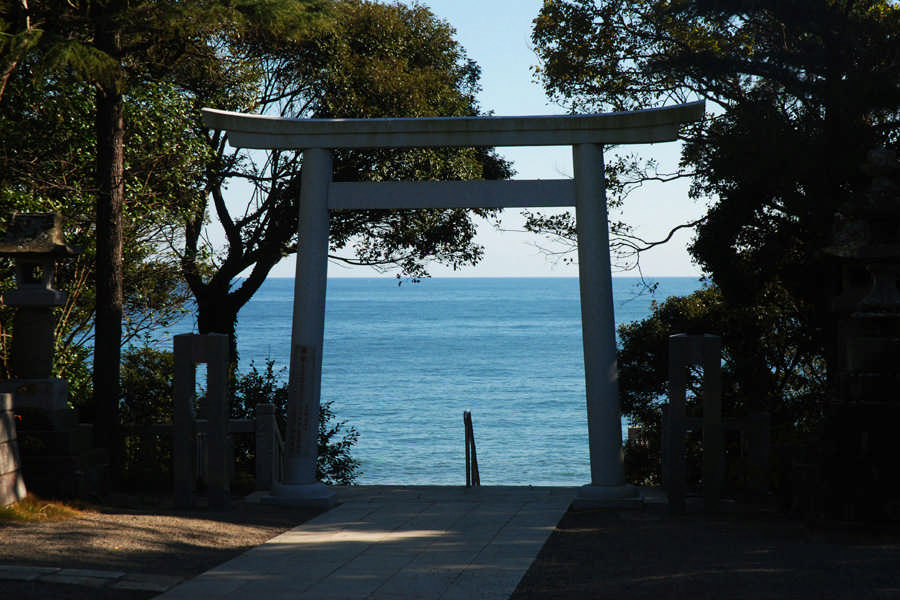 大洗磯前神社からの眺望