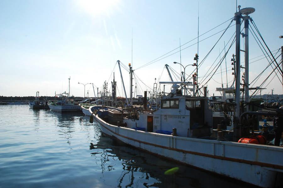 寂静的渔港