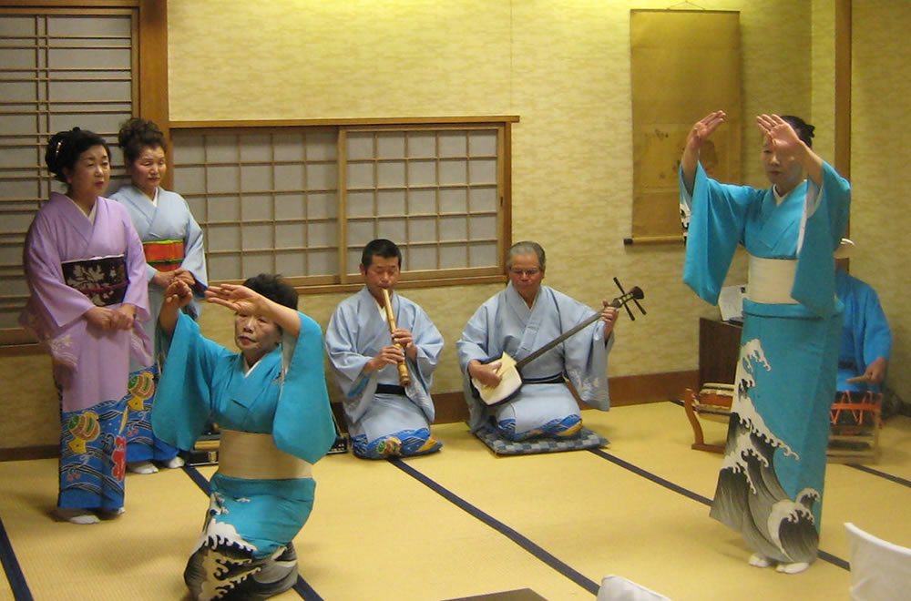 Isobushi, one of Japan's three most famous folk songs