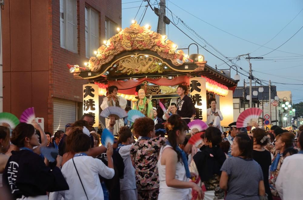 八朔祭り(神輿)