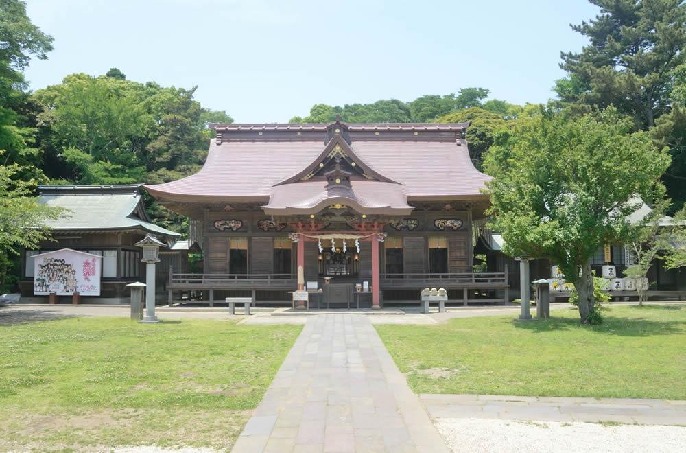 大洗磯前神社(拝殿)