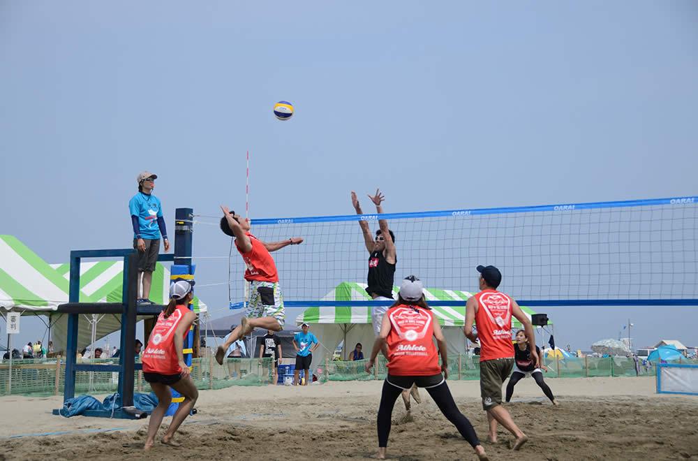 Beach Volleyball in Oarai