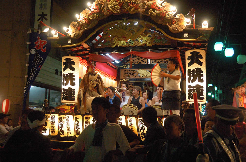 오오아라이 핫사쿠축제(大洗八朔(はっさく)祭(まつり))