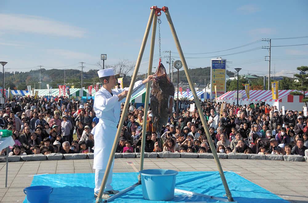 Oarai Anko (anglerfish) Festival