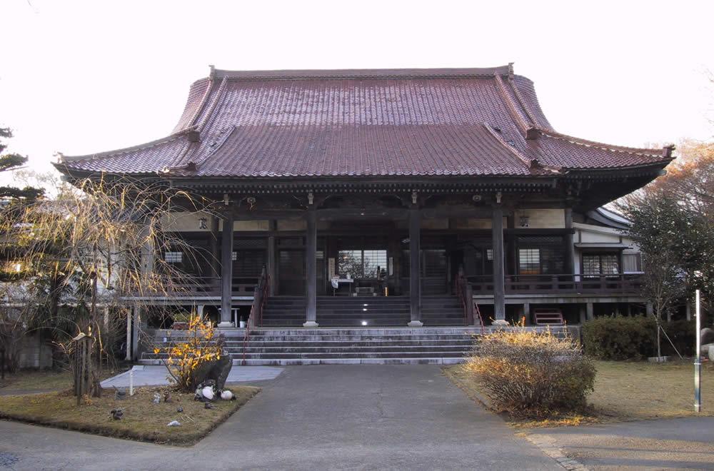 願入寺の本堂正面