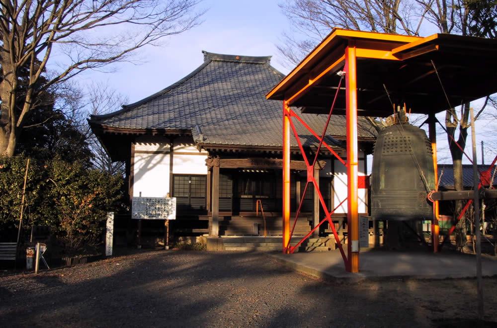 願入寺の開基堂