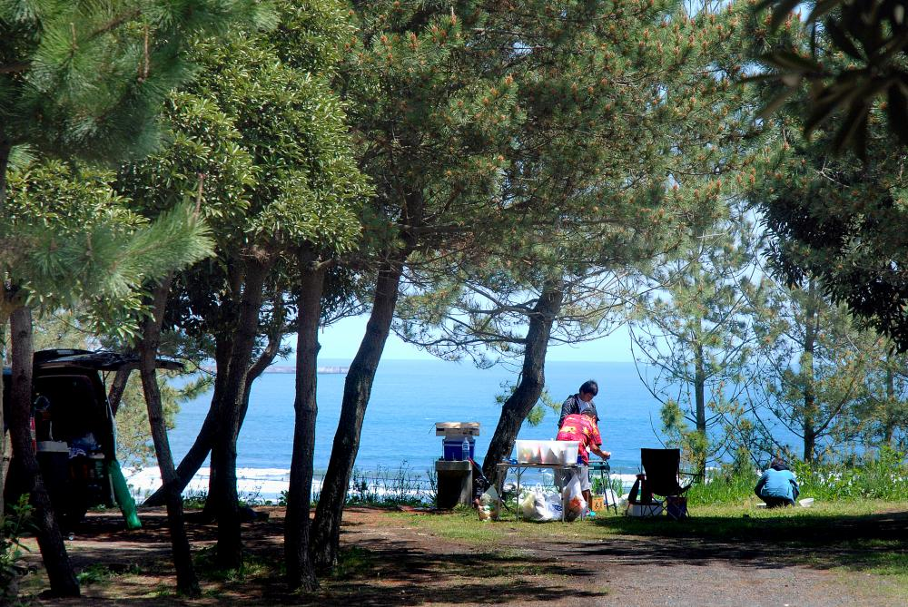 Oarai Sun Beach Camp Site