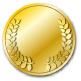 最優秀賞メダル